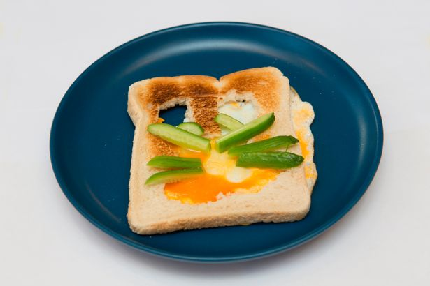 The Easter Bunny Toast