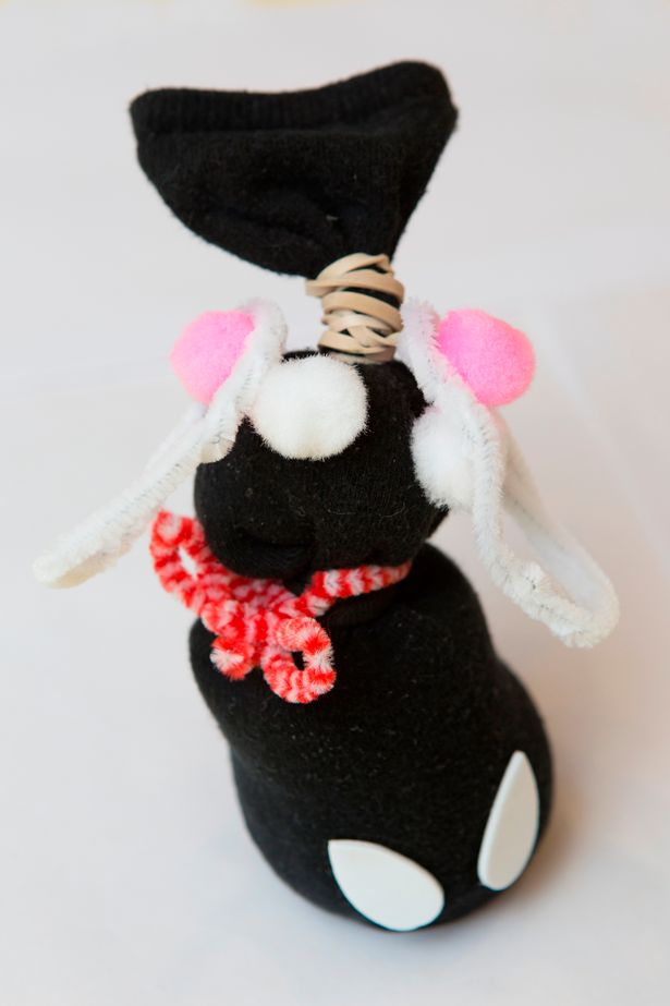 The Easter Sock Bunny