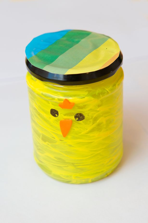 The Easter Chick Jar