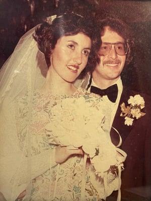 Tutti and Paul Bennett's wedding.