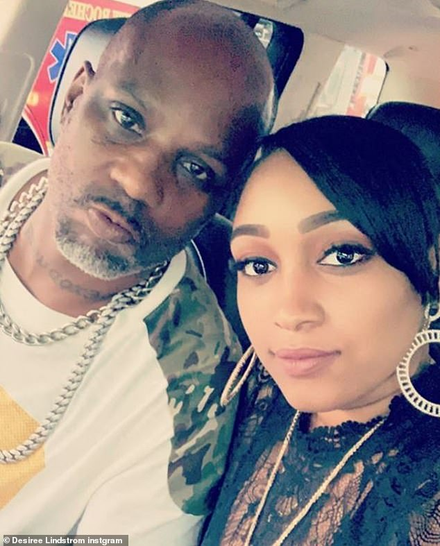 DMX, is famously a father of 15. He is pictured above with Desiree Lindstrom, who gave birth to his youngest child in 2016