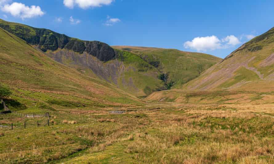 Howgill Fells and Cautley Spout, Cumbria