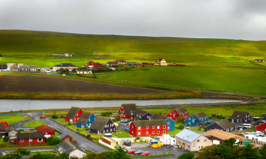 Scalloway Harbour, Shetland Islands
