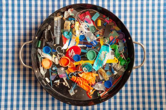 bowl of plastic