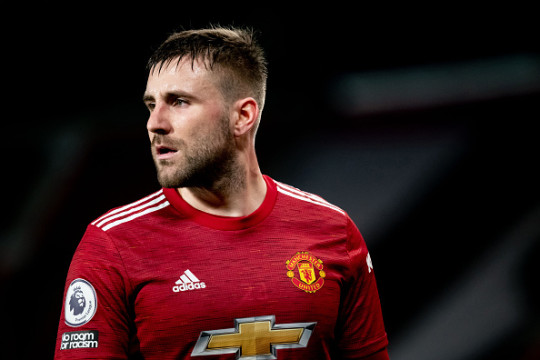 In-form Luke Shaw produced another impressive performance