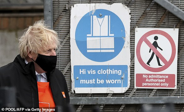 On Friday, Prime Minister Boris Johnson said two fully vaccinated people cannot meet indoors because vaccines 'are not giving 100 per cent protection'
