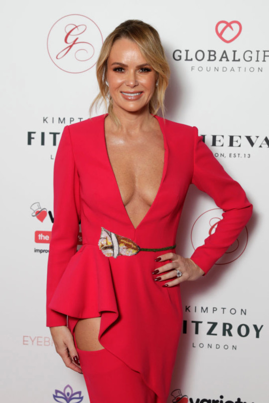 Amanda Holden on red carpet