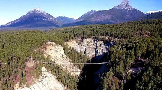 Canada canyon bridge Picture: Rocky mountain Adventure Park metrograb