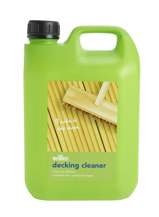 Wilko Decking Cleaner