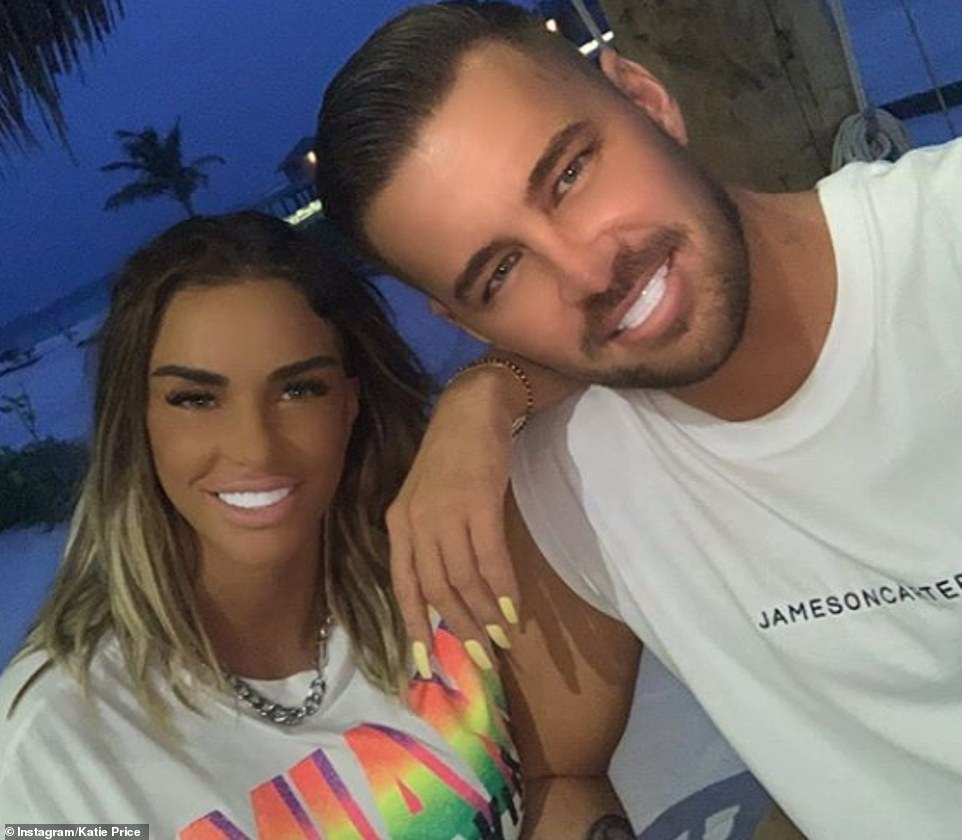 Hearing: In October, Katie extended her holiday at a £1,400-a-night Maldives retreat by a week after telling her bankruptcy hearing that she does not live a 'lavish lifestyle' over video chat