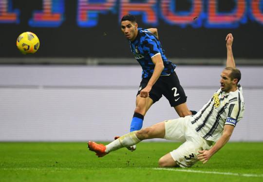 Achraf Hakimi has impressed since joining Inter last summer