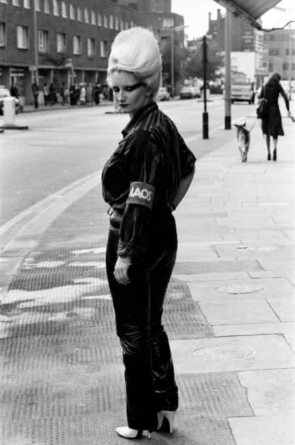 Jordan outside Sex in 1976.