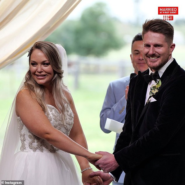 Denial: On Wednesday, MAFS' Executive Producer John Walsh issued a statement denying that Melissa and Bryce's relationship was 'characterised by domestic violence' during filming, and that producers always uphold a high level of care for participants