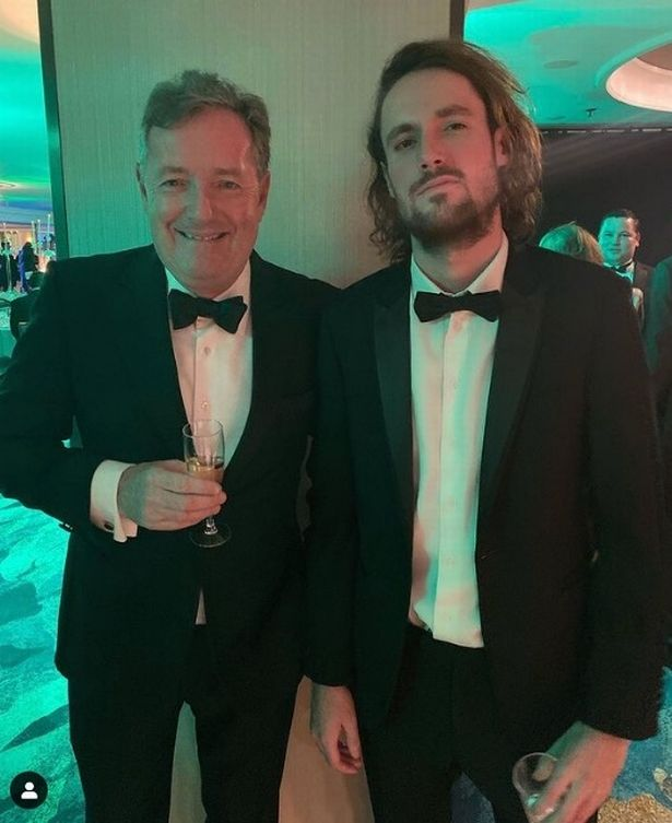 Piers and his son Spencer