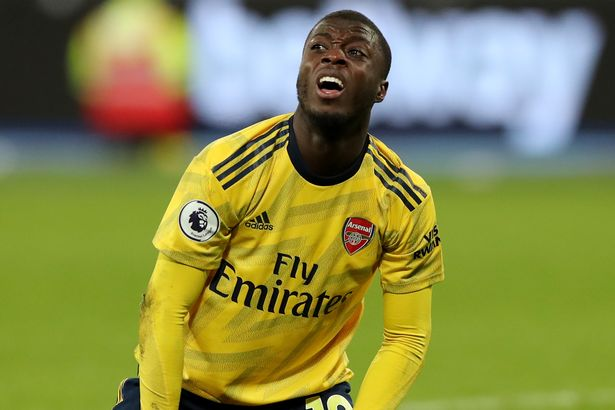 Arsenal were linked with Zaha before opting to sign Nicolas Pepe instead