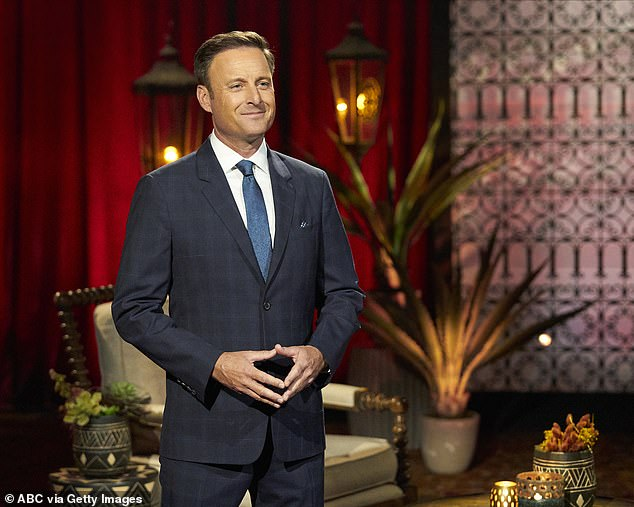 Controversy: Chris Harrison landed in the middle of the Kirkconnell scandal after coming to her defense during an interview with Rachel Lindsay