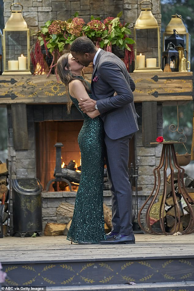 Not meant to be:Ultimately Matt and Rachael's relationship did not survive the controversy, and the former Bachelor admitted he ended the relationship after the photos surfaced