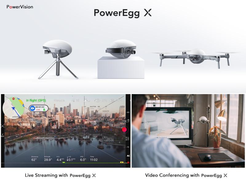 PowerEgg X aerial drone