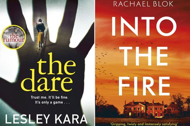 The Dare, by Lesley Kara and Into the Fire, by Rachael Blok