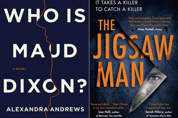 Who Is Maud Dixon?, by Alexandra Andrews and The Jigsaw Man, by Nadine Matheson