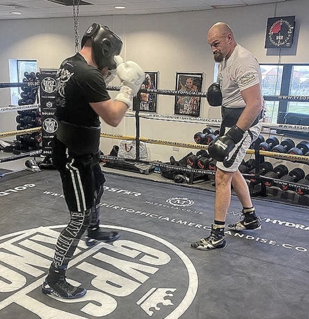 Tyson Fury has kicked off his training camp ahead of fighting Anthony Joshua