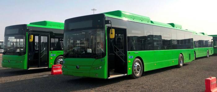 A Yutong bus