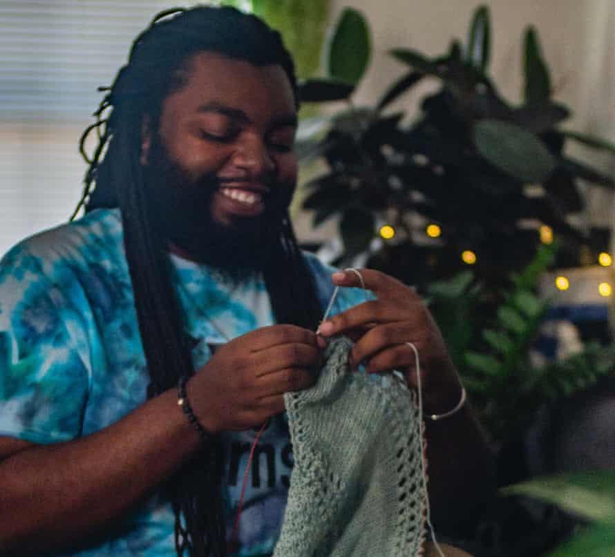Knitter Vincent Williams Jr