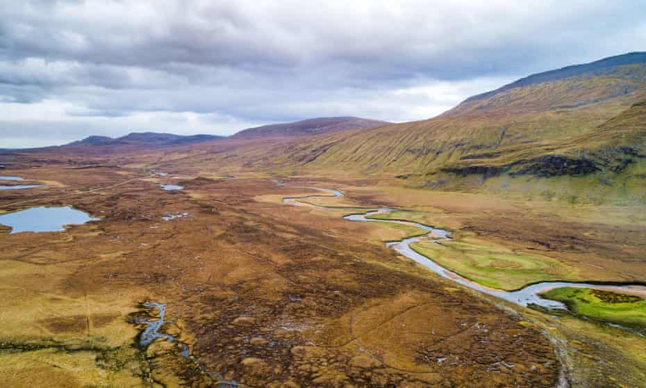 The lochs of Durness are known for huge but elusive trout.