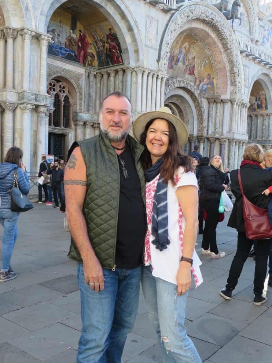 """""""Our sense of fun, and our sense of this is a challenge, and looking for new experiences, I think that's still there. And how much we enjoy each other's company."""" The couple in Venice in 2017"""