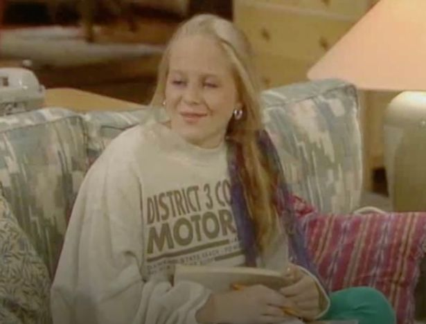 Kellie played Charlie's daughter Joanna in the hit sitcom