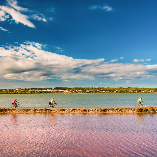 The beautiful UNESCO Ses Salines Natural Park