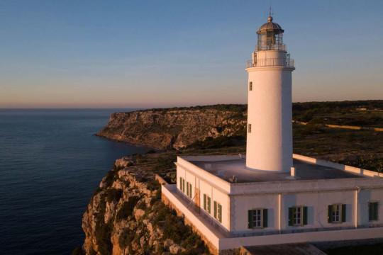 La Mola's lighthouse boasts incredible views
