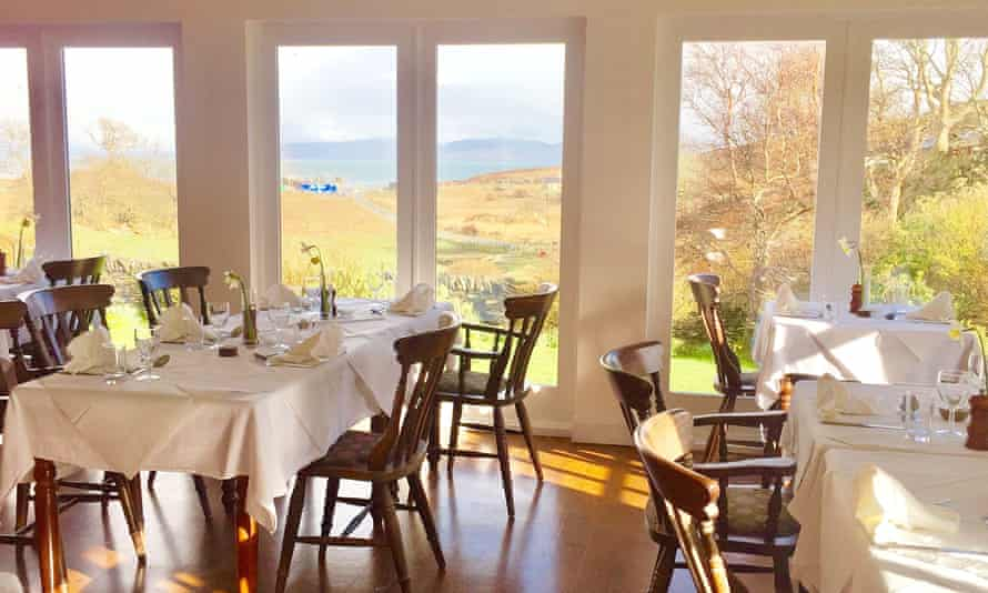 Feast on the views: Colonsay Hotel, Inner Hebrides.
