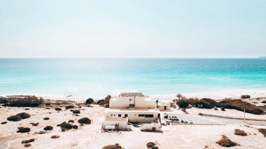 Formentera, Spain  - white sand beach and ocean