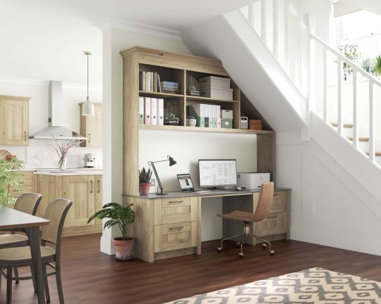 Wickes' Tiverton home office in oak