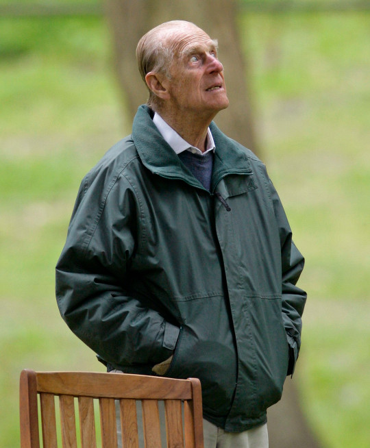 WINDSOR, UNITED KINGDOM - MAY 14: (EMBARGOED FOR PUBLICATION IN UK NEWSPAPERS UNTIL 48 HOURS AFTER CREATE DATE AND TIME) Prince Philip, Duke of Edinburgh works as an obstacle judge on the International Driving Grand Prix at the Royal Windsor Horse Show on May 14, 2011 in Windsor, England. (Photo by Indigo/Getty Images)