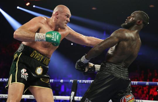 Fury battered Deontay Wilder in 2021