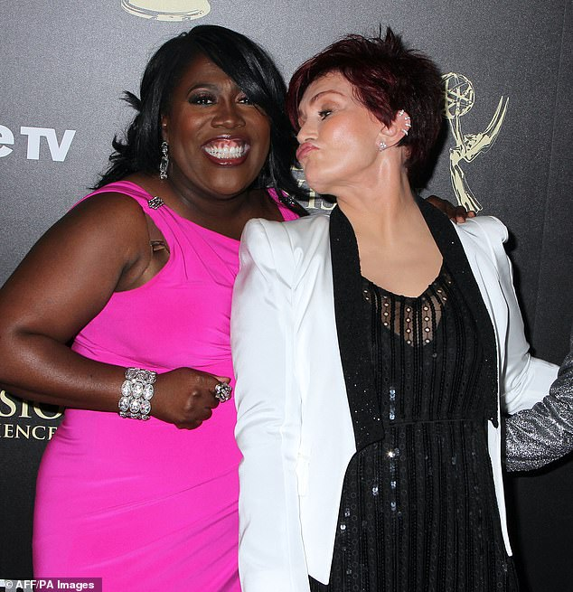 Underwood and Osbourne are pictured at the 41st Annual Daytime Emmy Awards in 2014