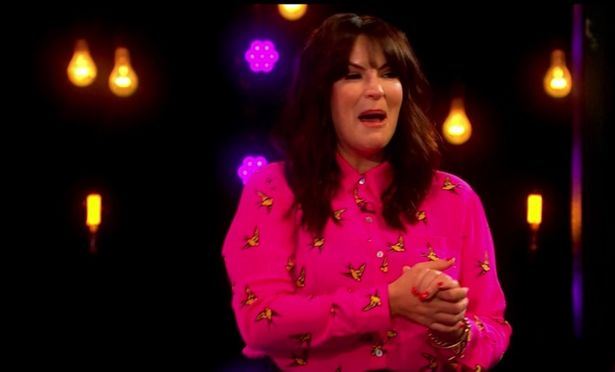 Anna Richardson was reduced to tears of laughter