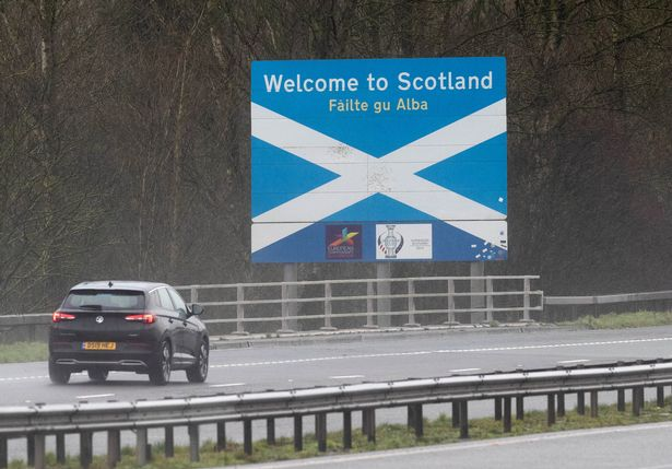 Restrictions on travelling in and out of Scotland will be lifted in just under a fortnight's time