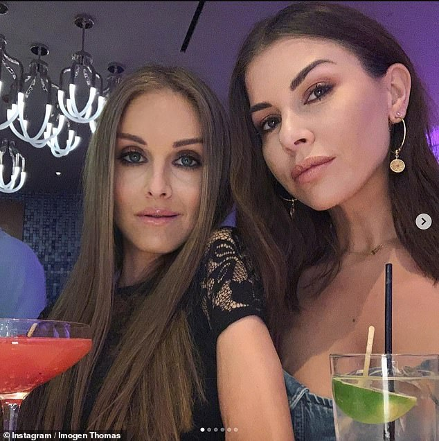 'It pains me': The model, also 38, took to Instagram on Tuesday to 'clarify' that Nikki's support system took turns to stay with her