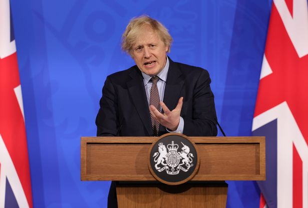 Boris Johnson in the £2.6m press briefing room in Downing Street, which does not have a sign language interpreter