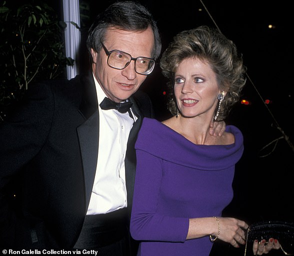 Larry King and fifth wife Sharon Lepore