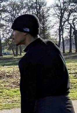 One of the men wanted for questioning by police in relation to the hospitalisation of a mother and her two kids after a dog attack in Bushy Park in Hampton om Easter Sunday. See SWNS story SWNNdog. A mum and her two kids were hospitalised after being bitten by a vicious dog as they did an Easter egg hunt in a park, police have revealed. The family were playing in Bushy Park in Hampton, southwest London, when the dog ran over without a lead. Police arrived at 5.44pm on Easter Sunday to find the mother and her nine-year-old daughter suffering from deep bite wounds. The dog had also bitten the girl's 10-year-old brother on the arm.