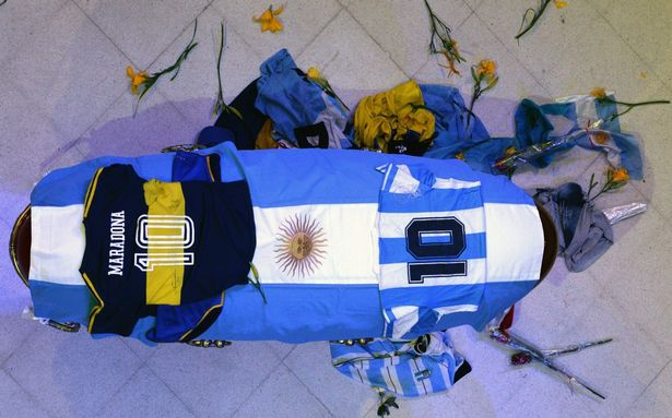 Maradona's death led to an outpouring of grief in Argentina