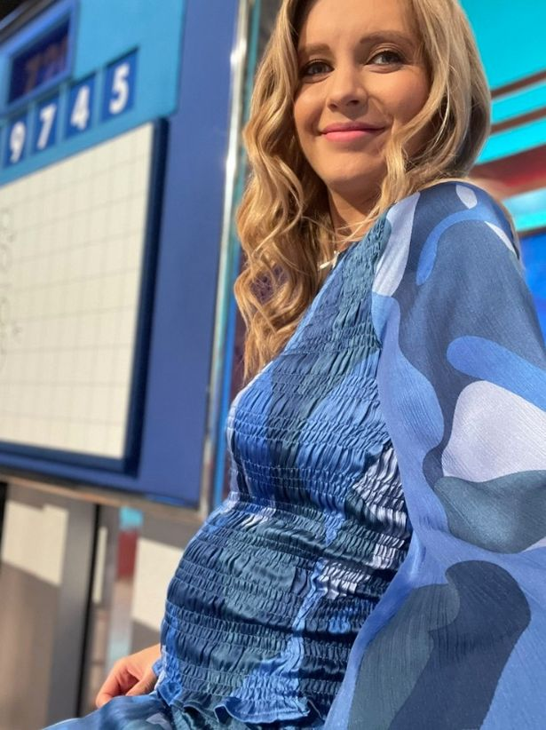 Pregnant Rachel revealed that she was expecting her second child with husband Pasha earlier this month