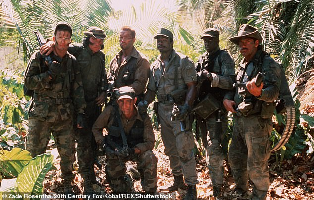 Popular film:Predator starred Arnold as Major Alan 'Dutch' Schafer, the leader of an elite paramilitary rescue team who encounters a deadly alien while on a mission in Central America