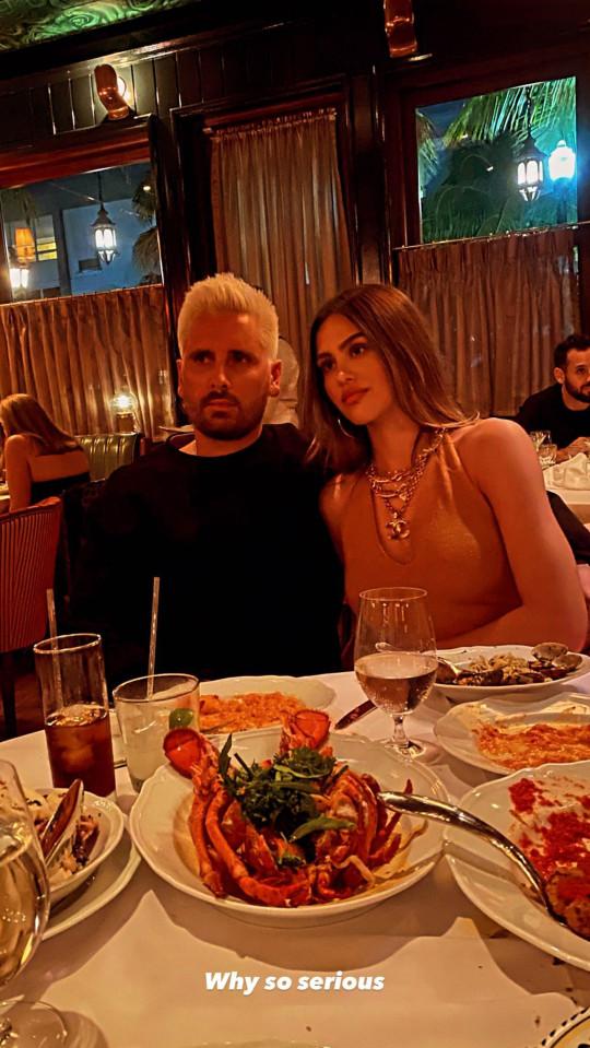 Scott Disick goes Instagram official with new girlfriend Amelia Hamlin Instagram