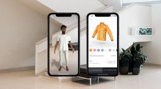You can now create an avatar of yourself so you can 'try on' clothes before buying