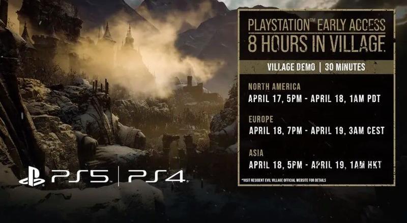 Resident Evil Village demo times